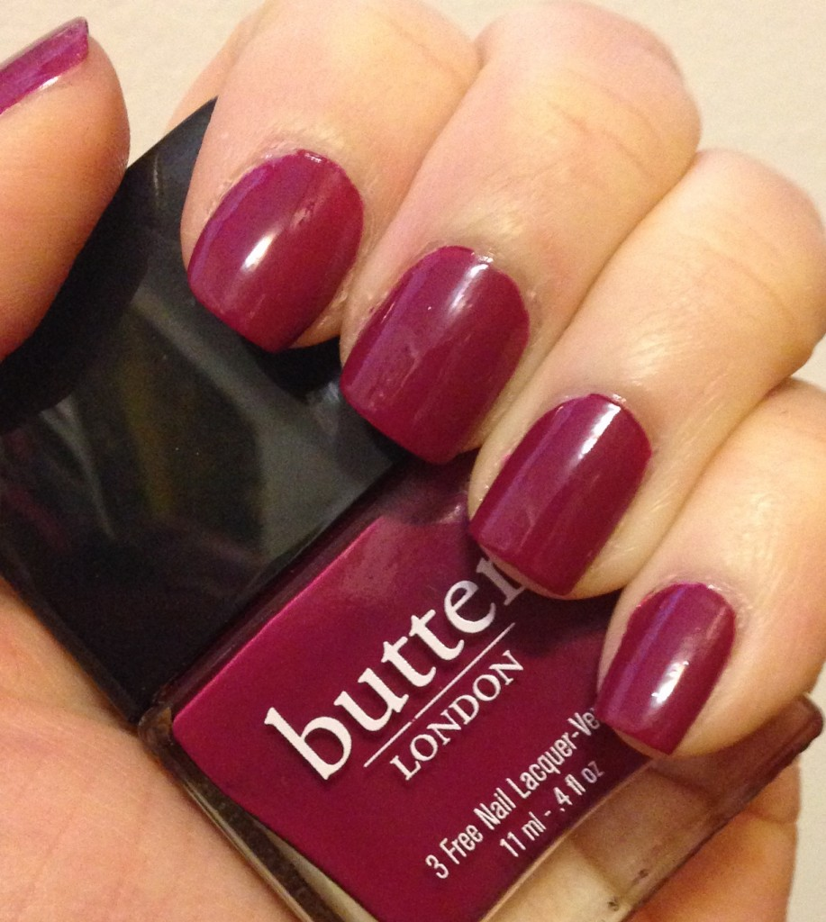 Manicure Monday | Butter London Queen Vic