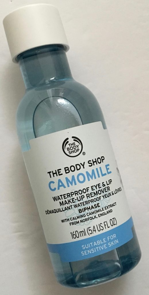 The Body Shop Camomile Waterproof Eye And Lip Makeup Remover Review Adventures In Polishland